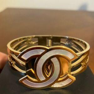 Classic 💛 Big Logo Cuff Bracelet